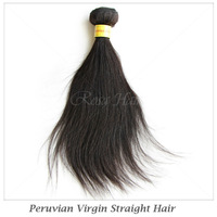 Elites hair products Peruvian straight hair extension 1 bundles 100% human hair weave straight Soft and shedding free