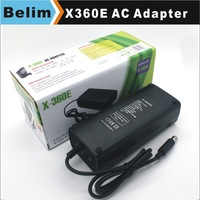 Free Shipping Black 12V EU Power Supply AC Adapter Charger Cable for X360 Playstation