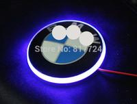 82mm Hood Emblem Badge with Blue LED Back Light For 1 3 5 7 Z M Series E30 E60 E90 All Models