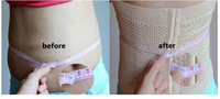 2014 Limited Oxford Nylon Spandex Firm Promotion High Quality Body Tummy Slimming Band Belt Waist Cincher Shaper Shipping