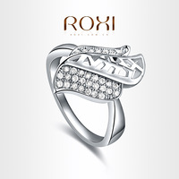 ROXI brand 2014 New arrival,delicate Neutral crystal rings,FREE SHIPPING,best gift for girlfriend,noble Party Jewelry,101022618