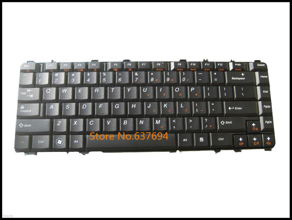 Free shipping!! New Keyboard For IBM Lenovo Ideapad Y450 Y450A Y450AW Y550A Y550 Y550P Laptop Black US Teclado(China (Mainland))