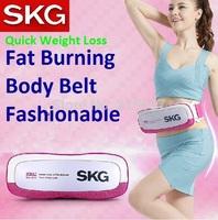 Free Shipping Quick Weight Loss Skg fat burning belt massager machine double motor belt massager machine