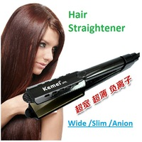 Free Shipping Professional straight clip ceramic temperature control hair straightener straight hair stick steam