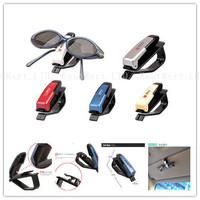 In colorful Sunglasses Holder Clip for Car Vehicle Sun Visor secure glasses storage