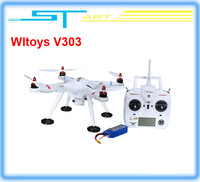 Drop shipping Wltoys V303 GPS Drone 4CH Brushless Transmitter RC Helicopter quadcopter For Gopro VS walkera qr x350 pro H107D