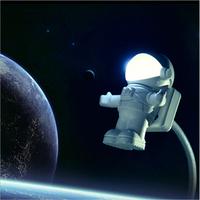 New Arrvial USB Astronaut Light / Cute Astronaut PC Lamp LED Night Light