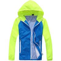 2014 Hot Sale new style men's Summer Rash Guards Jackets men's fashion spell color Rash Guards Free Shipping Size S-XXXL D257