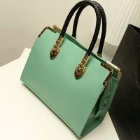 2015 Casual  Popular Sequins Women Handbag  Leopard Messenger Bags Shoulder Bag High Quality PU Wholesale