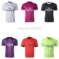 2014 New Mens Sports casual t shirt Men's Short Sleeve men t-shirt ronaldo neymar jr messi jersey bale james shirt