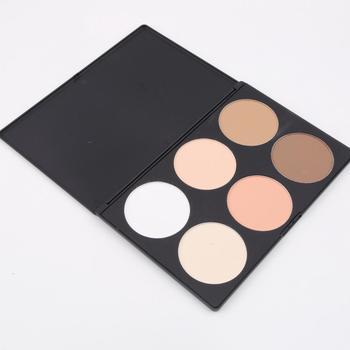 1 шт. профессиональный новый 6 цвет косметическая румяна контур основой питания макияж ...