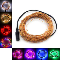 SUPERNIGHT 10m 100LED 33Ft Copper Wire LED Starry Lights Strings Fairy Lamp christmas lights fairy lights
