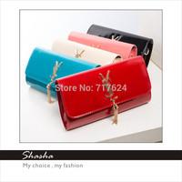 2014 Ys famous brand designer handbag women messenger bags girls metal chain bag purse women's wallet bolsas desigual AXB00045