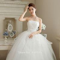 HOT Free shipping new 2014 princess lace sexy cheap wedding dress wedding dresses under $50 HS040