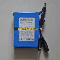 Free shipping  lithium battery backup power supply of 12V 6800mA 12 volt 6500 mA ATT12680 6sets/pack