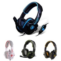 Original Gaming Headphones Voice Headset With Microphone for Computer Game Earphone With Mic for PC Game has retail box