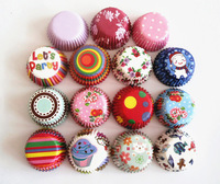 Free Shipping 400Pcs MINI Size Cupcake Liners Baking Cups Bakery Tools Party Decorations Base24mm
