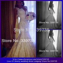 cheap beaded wedding dress