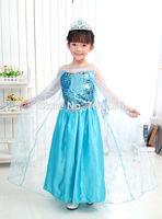 Free shipping Wholesale  Elsa dresses, Princess Elsa  costumes dresses for girl OD25