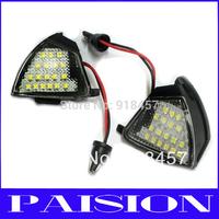 2X LED Side Mirror Puddle Lights No Error for Vw Golf 5 Mk5 MkV Passat b6 Jetta Eos