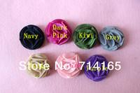 Petite Felt Flower Wool felt flower baby girl Kids flower 100pcs/lot  4cm
