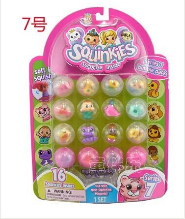 Popular global squinkies q small minis 16 mini dolls toy 1(China (Mainland))