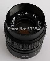 """25mm F/1.4 1/2"""" CCTV TV Lens + C mount for Sony NEX Adapter + 2 Macro Rings"""