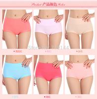 New arrival Women Body Shaper Hip Abdomen Tummy Control Bamboo Panties High Waist Underwear Soft Brief Sexy underwear,3pcs/lot