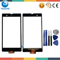 Original For Sony Xperia Z LT36i LT36h LT36 C6603 C6602 L36H Touch Screen Digitizer Glass Front Free Tools