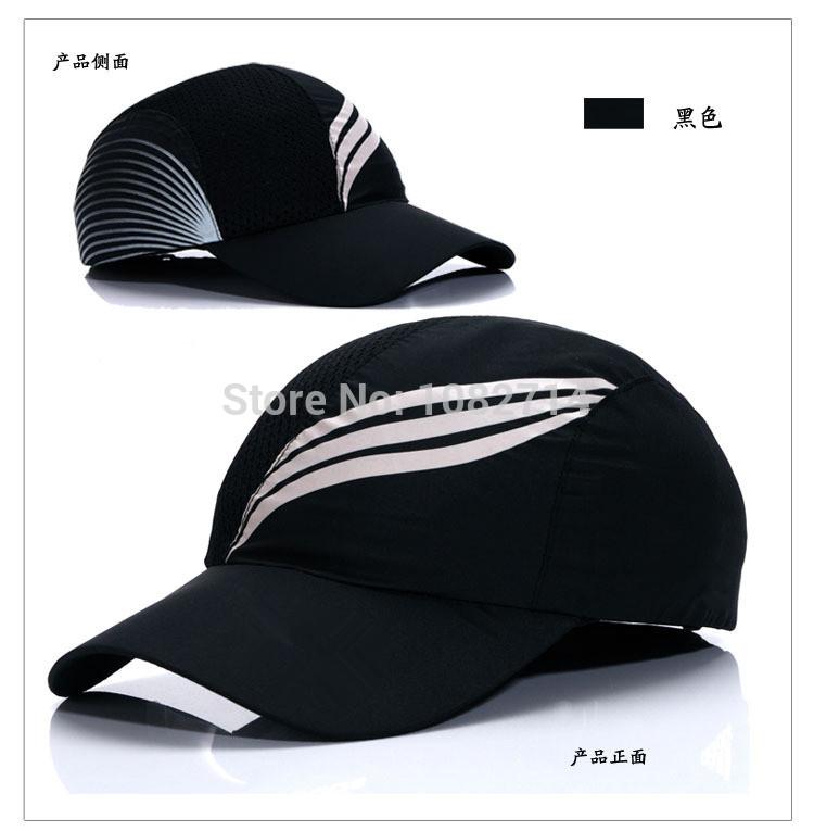 Summer new casquette men traveling fashion sports tennis women's sun hat quick-drying duck tongue mesh breathable baseball cap(China (Mainland))