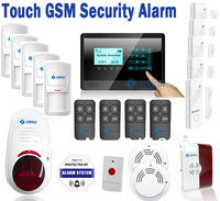 SATCUS Android APP Wireless GSM SMS Alarm Systems Security Home House Buglar Touch Keypad Fire GAS SOS Alarm SG-322