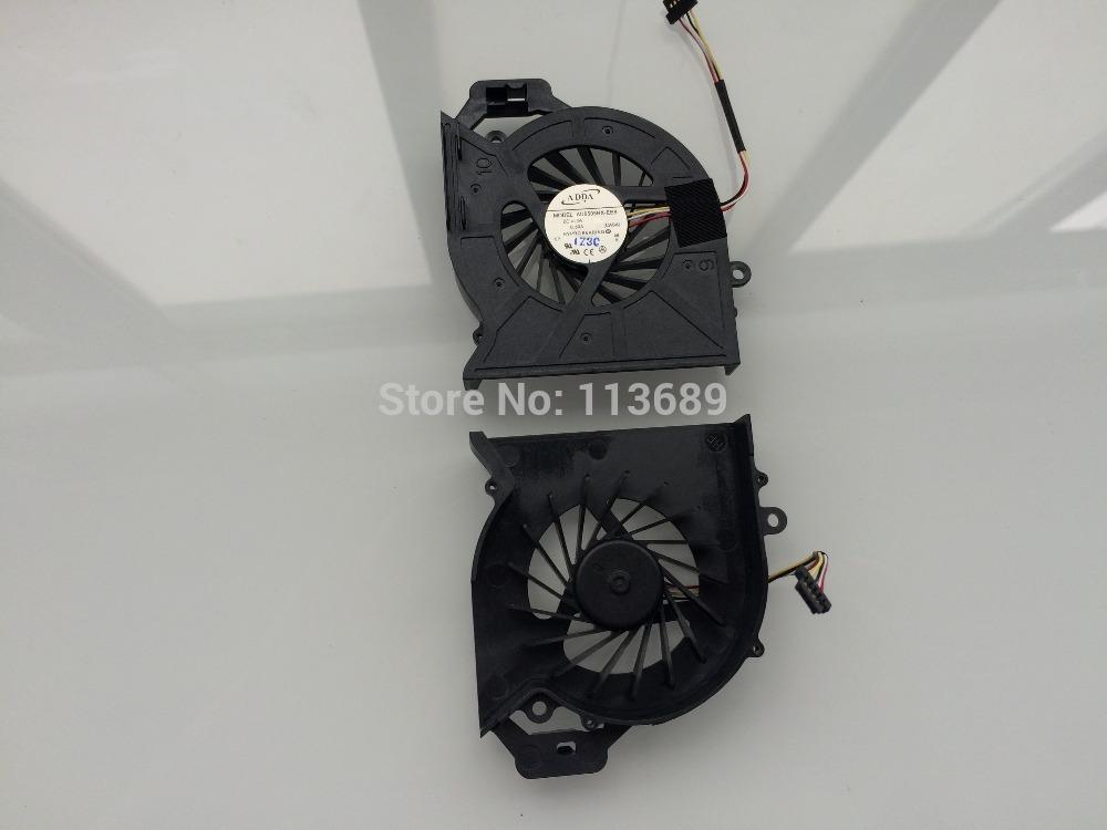 ADDA new laptop cpu cooling fan for HP Pavilion DV6 DV6-6000 DV6-6050 DV6-6090 DV6-6100 DV7 DV7-6000 650797-001 AD6505HX-EEB(China (Mainland))