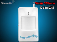 CE/Rohs Approved Wireless PIR Detector for home alarm home security system 433/315MHZ motion sensor Free shiping