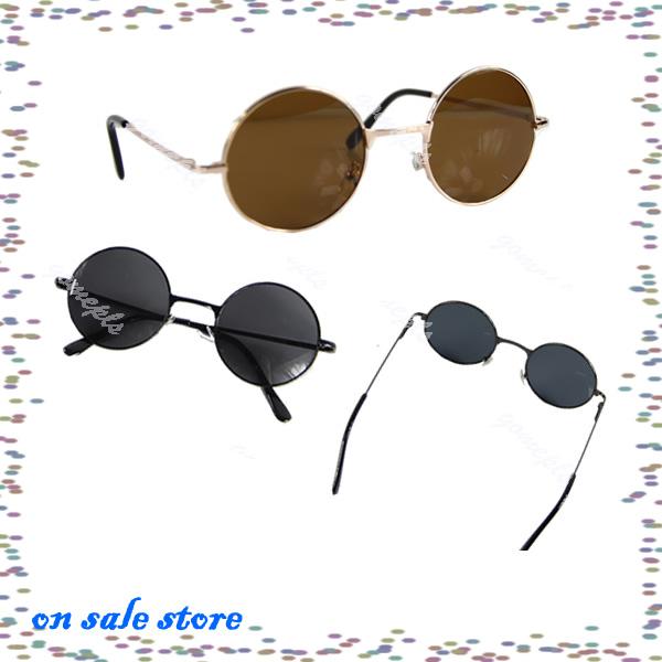 "Y92"" On Sale Retro Vintage Tortoise Round Frame Lens Sunglasses Eyeglasses Glasses(China (Mainland))"