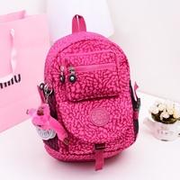 Hot Designer Lovely Kip Backpack Shoulders bag for Women Casual Nylon Fashion kippl school bag bolsa kipplingFree shipping