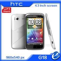 "Original HTC G18 Sensation XE Z715e G18 Unlocked Mobile Phone Android 4.0 8MP Camera, 4.3""Touchscreen, WIFI, GPS,russian spanish"