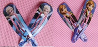 STOCKING Free shipping 20PCS/LOT(10pair) Wholesale frozen princess Hairpins Ornaments Hair Clips,BEST GIFT
