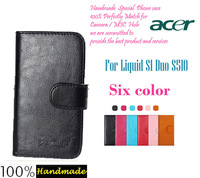 Free hongkong post Luxury Stand Wallet Flip Leather Case For ACER Liquid S1 Duo S510 Phone Bag Cover Vintage Book Style