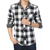 Summer male short-sleeve plaid shirt ,small plaid casual male slim plus size 5xl,6xl  plaid short-sleeve shirt men