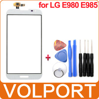White 100% Brand New Repair Replacement Part Glass Lens Touch Screen Digitizer for LG Optimus G Pro E980 E985 Free Tools Kit