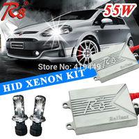R8 H4 Bi-Xenon HID Conversion Kit Headlight AC 12V 55W H4 Hi Lo Bi Xenon Lamps Bulbs R8 Ballast