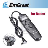 Timer Remote Control TC-80N3 Remote Shutter For Canon 5D 6D 7D Support Self-timer Interval Timer Long-exposure R8B9
