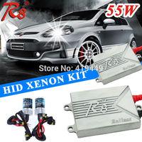 Wholesale Price AC 12V 55W R8 HID Conversion Kit Headlight H1 H3 H7 H11 9005 9006 880 H27 Xenon Lamps Bulbs R8 Slim Ballast