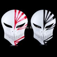 Free shipping New PVC Death Ichigo Kurosaki Bleach Mask Dance Masquerade Party Cosplay Halloween 24pcs/lot EW-H-AP-051