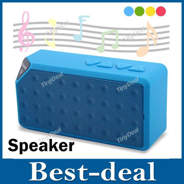 X3 Mini Wireless Bluetooth Speaker Wireless Speaker Support TF Card U Disk USB Flash Drive for iPhone 4S 5S 5C Samsung S4 S5(China (Mainland))