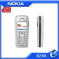 6230i Original Unlocked Nokia 6230i mobile phone Triband Camera 1.3MP Buetooth MP4 Cheap Cell Phone refurbished