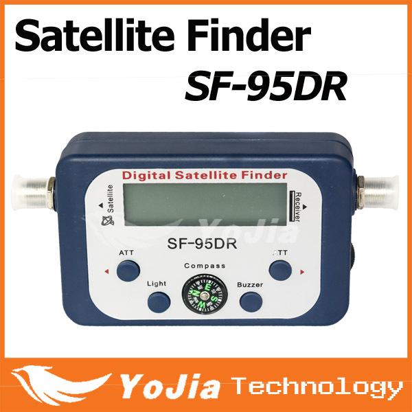 1pc Original SF-95DR Digital Satellite Signal Meter Finder SF95DR Satellite Finder SF95 Free Shipping Post(China (Mainland))