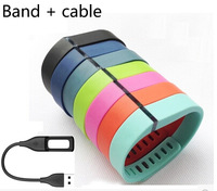 Large size  Replacement Band for fitbit flex band  W/clasp + Charging Cable  No tracker free shipping