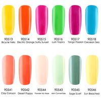 (Choose 3 Color) New 12 Colors Crislish Gel polish Soak-off Long Lasting Professional Nail Beauty 7.3ml Free Ship