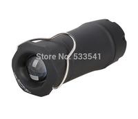 2 in 1 R2 LED Zoom Flashlight Torch Light Camping Lantern Tent Light Black
